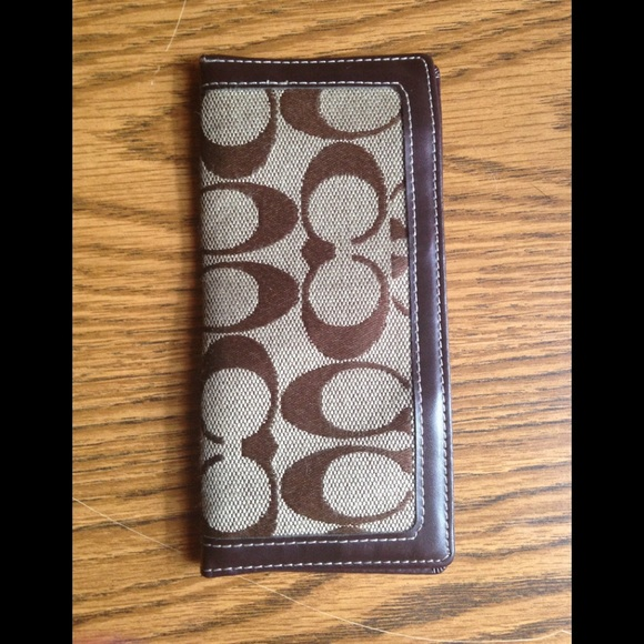 Coach Handbags - Coach checkbook holder